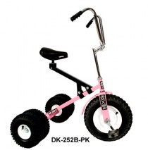 Dirt King Big Kids Dually Tricycle Pink Ages 7 - Adult