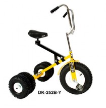 Dirt King Big Kids Dually Tricycle Yellow Ages 7 - Adult
