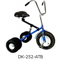 Dirt King Adult Dually Tricycle Blue Ages 10 - Adult