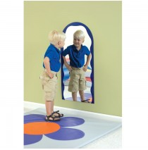 Blue Ripple Archway Mirror by Childrens Factory