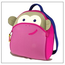 Blushing Monkey Backpack by Dabbawalla