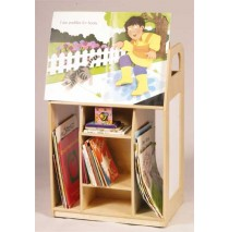 Book Trolley Display by Guidecraft