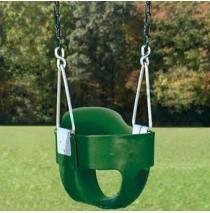 Residential Full Bucket Swing Creative Playthings - Chain