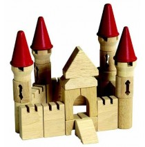 Castle Block Set Table Top Building Blocks 40 Pcs by Guidecraft