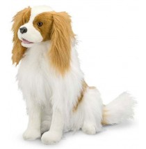 Melissa & Doug Cavalier King Charles Spaniel Plush Dog