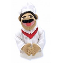 Melissa & Doug Hand Puppet - Chef