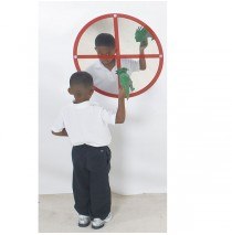 Circle Windowpane Mirror by Childrens Factory