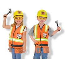Melissa & Doug Construction Worker Role Play Costume Set