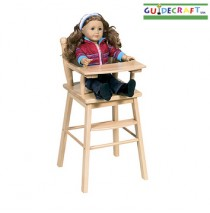Doll High Chair- Natural