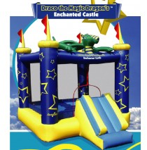 Draco the Magic Dragon's Enchanted Castle Bounce House