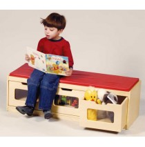Easy-View Storage Bench