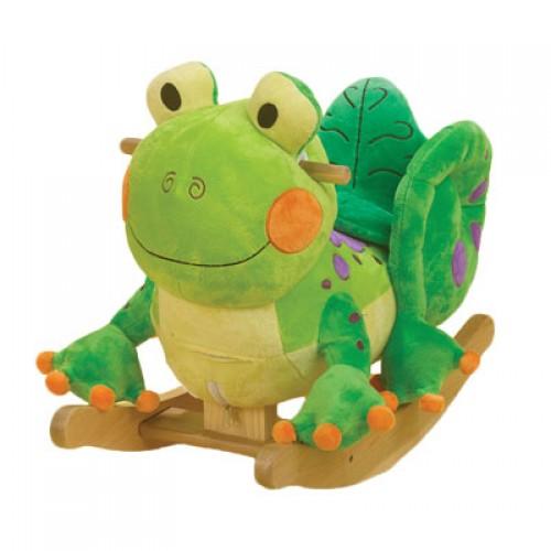 fergie the frog musical rocker by rockabye