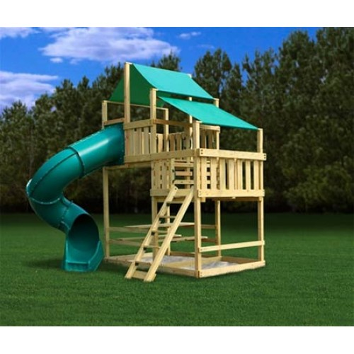 Swing set kits plan it play swing set plans for Wooden swing set plans