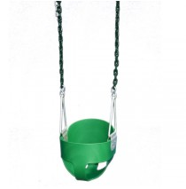 Gorilla Playsets Green Full Bucket Toddler Swing