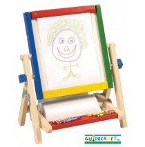 Guidecraft 4 in 1 Tabletop Flipping Easel