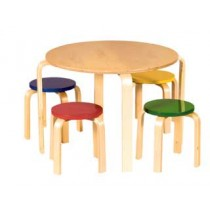 Guidecraft Nordic Table Set - Primary Color