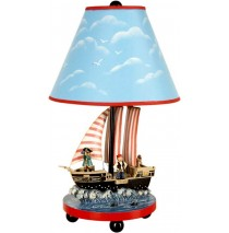 Guidecraft Pirate Table Lamp Model G83707