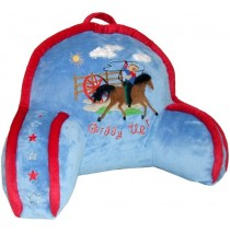 Carstens Kids Giddy Up Cowboy Bedrest Pillow