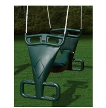 Gorilla Playsets Plastic Glider Swing For Two