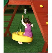 Gorilla Playsets 360 Tire Swing - Yellow