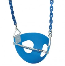 Toddler Half Bucket Swings - Blue