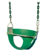 Toddler Half Bucket Swings - Green