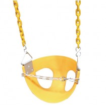 Toddler Half Bucket Swings - Yellow