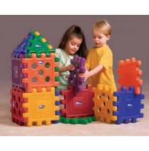 Grid Blocks 16 Piece Building Set by CarePlay