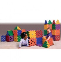 Grid Blocks 48 Piece Building Set by CarePlay