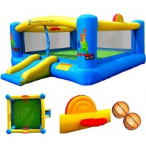 Hoops-N-Hops 5 Inflatable Bounce House