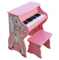 Schoenhut Piano Pals Horse Piano with Bench