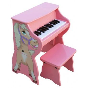 Schoenhut Piano Pals Horse Piano with Bench - Horse-Piano-360x365.jpg