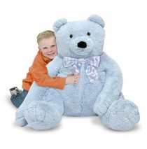 Jumbo Teddy Bear Blue