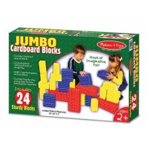 Jumbo Cardboard Blocks 24 piece set Melissa & Doug