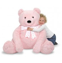 Jumbo Teddy Bear Pink
