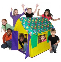 Sutffed Animal House Play Tent by Bazoongi Kids