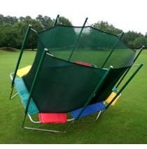 KidWise 9'x14' Rectagon Trampoline