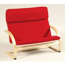 Kiddie Rocker Couch in Red by Guidecraft
