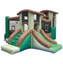 Commercial Kidwise Clubhouse Bounce House