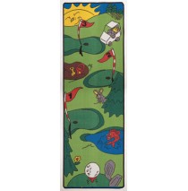 Let's Play Golf Learning Carpets for Kids Model LC 120