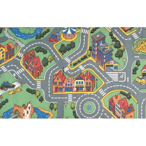 My Neighborhood Learning Carpets Classroom Rugs