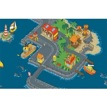 Down By The Sea Learning Carpets for Kids Model LC 151