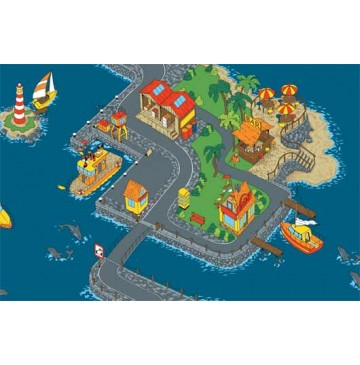 Down By The Sea Learning Carpets for Kids Model LC 151 - LC151-Down-By-The-Sea-360x365.jpg