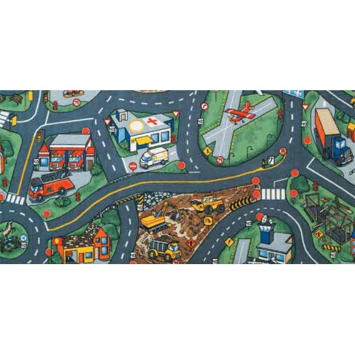 Airport Learning Carpets Classroom Rugs Educational Kids Rugs