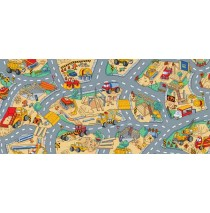 Under Construction Learning Carpets for Kids Model LC 161
