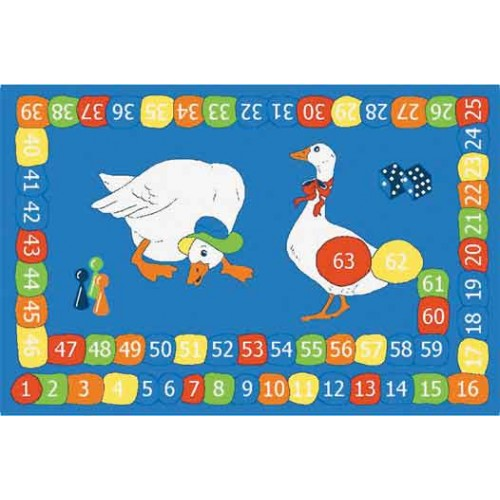 Goose On The Loose Learning Carpets Classroom Rugs