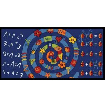 Alpha Arithmetic Learning Carpets for Kids Model LC 186