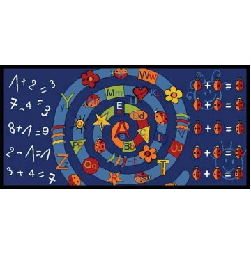 Alpha Arithmetic Learning Carpets for Kids Model LC 186 - LC186-Alpha=Arithmetic-360x365.jpg