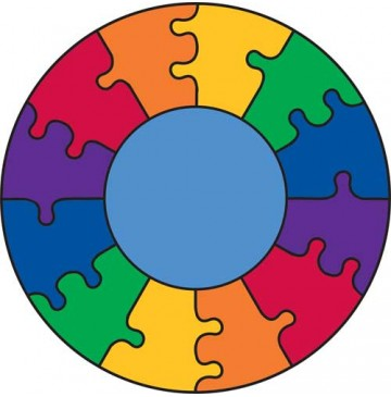 Puzzle Rainbow Learning Carpets for Kids Model LC 305 - LC305-Puzzle-Rainbow-360x365.jpg