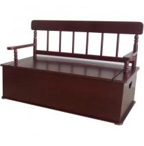 Simply Classic Cherry Bench Seat w/ Storage